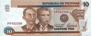 Курс филиппинского песо к евро