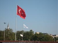 всегда радовало глаз обилие турецких флагов - они везде!
