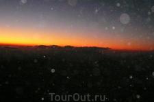 Гора Моисея. Рассвет