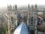 Вид со смотровой площадки Йоркского кафедрального собора на город.