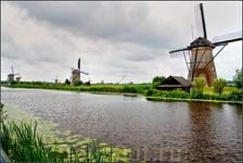 Ветряные мельницы в Киндердейке — это одна из самых популярных туристических достопримечательностей в Нидерландах.