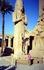 Статуя фараона Луксорского храма, развалины которого находятся на правом берегу Нила, в южной части Фив, в пределах современного города Луксор.
