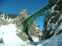 Горный мост