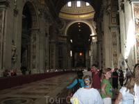 Ватикан. Главный собор Италии, там Папа работает. ))