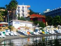 пляж отеля Амос