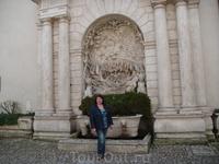 Фонтан Венеры во внутреннем дворе виллы Д'Эсте