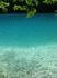 Вода - аквамарин. Фантастичное зрелище. Жаль, что купаться запрещено - как-никак Нацпарк.
