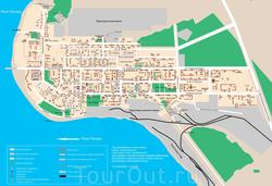 Карта Печоры с улицами