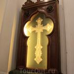 Перламутровый крест из Иерусалима - Собор Андрея Первозванного