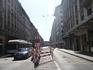 Центральная улица с магазинами. Очень мне напомнила улицу Маннергейма в Хельсинки. Похожий стиль зданий, тоже трамваи. Только тут народу побольше в разы ...