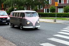 Вот такие ухоженные фургончики на улицах - отнюдь не редкость!