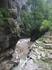 Гуамское ущелье, особенно забавно видеть людей как бы слившихся с природой. Рыбалка это великолепно в такой природе.