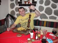 настоящая порция мяса для настоящего мужчины)