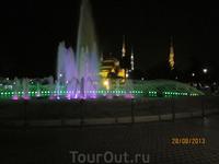 Султанахмед вечером