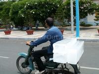 Местный способ перевозки льда