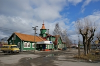 Железнодорожный вокзал Медвежьегорска