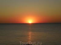 Закат в Николаевке
