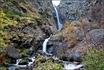 О, счастье! после 1,5 км и всё куда то вверх показался водопад