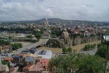 Панорама Тбилиси.