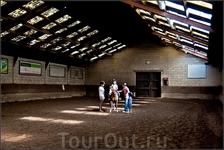 На уроке верховой езды в местной конной школе