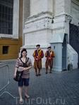 Рим. Охрана у собора св. петра
