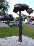 памятник котёнку Василию на улице Лизюкова