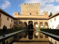 Альгамбра, Хенералифе и Альбасин в Гранаде