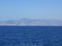 Плывем на Сими, до берега Турции рукой подать