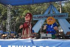 Главные герои Епифанской Ярмарки - купец Антон Евграфович Байбаков - и его супруга Евдокия