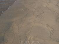 Рисунок на песке