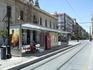Севилья. Трамвайная остановка