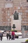 Памятник Гойе на площади Пилар. Собственно, кроме этой площади и Собора ничего мы в Сарагосе не видели. Слишком мало времени.