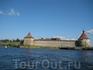 Крепость Орешек, вид с лодки
