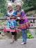 Девушки народности Тутя на очередном перевалочном пункте заповедника.