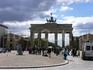 Бранденбургские ворота, бывшая граница Восточного и Западного Берлина