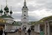 Справа - Гостиный Двор Костромы.