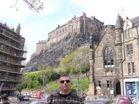 Эдинбургский замок,в нем жила Мария Стюарт.