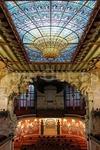 Фотография Дворец каталонской музыки и больница Сан-По в Барселоне