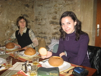 Ужин в ресторане в Праге