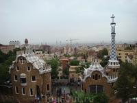 Парк Гуэль Антони Гауди в Барселоне