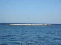 Вид с пляжа г. Фалираки.