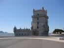 Лиссабон. Torre de Belem. Одна из немногих старинных построек уцелевших после землетрясения 1755г.
