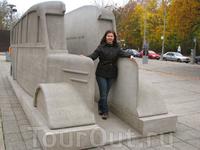 Grey bus - памятник жертвам эвтаназии