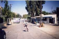 На греческом посту разделительной линии между греками и турками