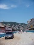 Приехали посмотреть на самбадром где проходит бразильский карнавал.