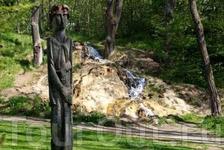 водопад минерально воды в объективе Travel Film Media