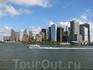 вид на Манхэттен с моря