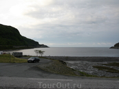 Остановка на берегу фьорда
