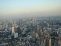 виды на Бангкок с небоскрёба Байок Скай