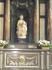 """Великолепная  """" Дева  и  ребенок """" в мраморе Микеланджело  в Церкви  Богоматери."""